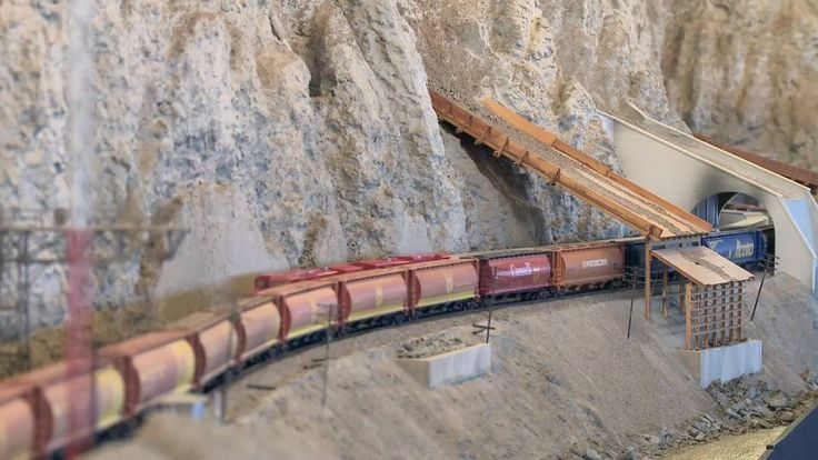 we don't have real Trains but O Gauge Model Train Scenery like Model Trees, … – Model Railroad Gauge O