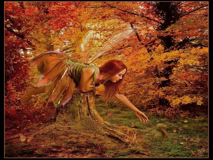 autumn fairy tale wallpaper - photo #42
