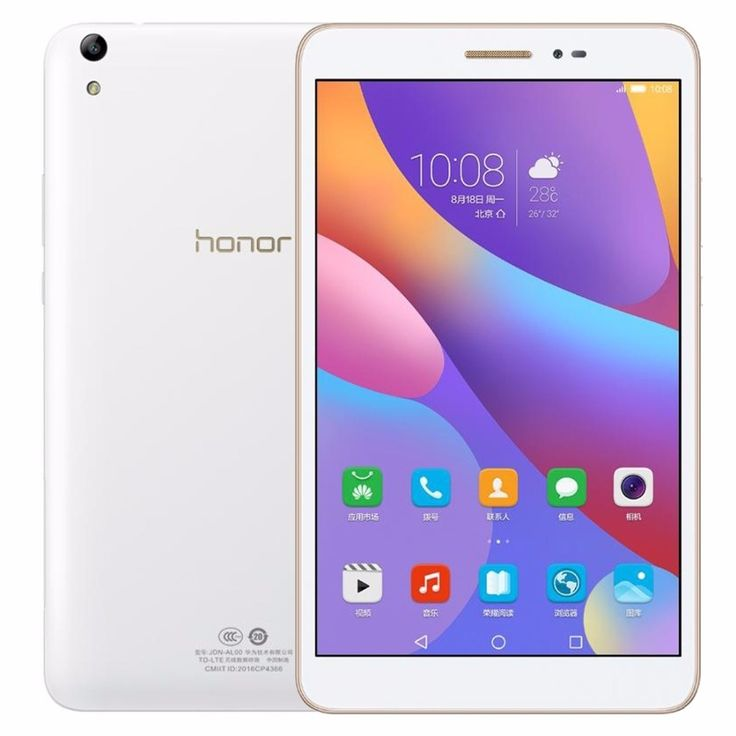 177.93$  Watch more here  - Original 8.0 inch Huawei Honor Tablet 2 JDN-W09 3GB/ 16GB EMUI4.0 (Android 6.0) Qualcomm Snapdragon 616 Octa Core Tablet GPS OTG