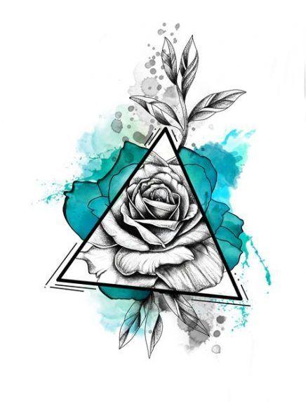 21+ Ideen für Tattoo-Ideen Aquarell Inspiration Farbe