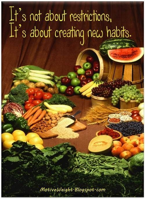 It's about making it a habit - CLEAN EATING. http://paleoaholic.com/