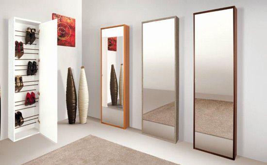 Prodotto scarpiera as4scarp 591 mobili per for Scarpiera specchio leroy merlin