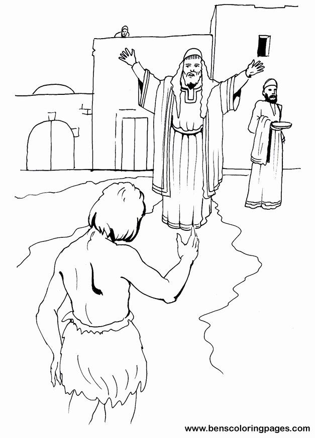The Prodigal Son Coloring Page Luxury Prodigal Son Coloring Pages