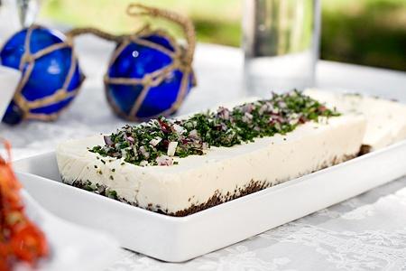 Västerbotten cheesecake (plockmat)