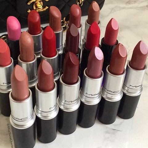 Whats your favorite MAC lipstick?? Let me know below (photo: @missyanacherie) #shatayabeauty