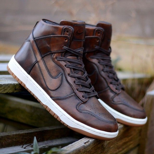 """""""#copordrop: @Nike Dunk High SP """"Burnished Leather"""""""" I need this in my life..."""