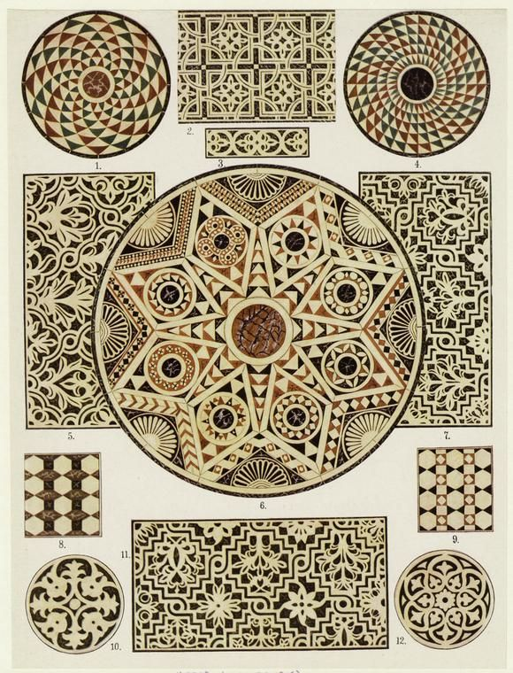 Byzantine Marble Mosaic Floors