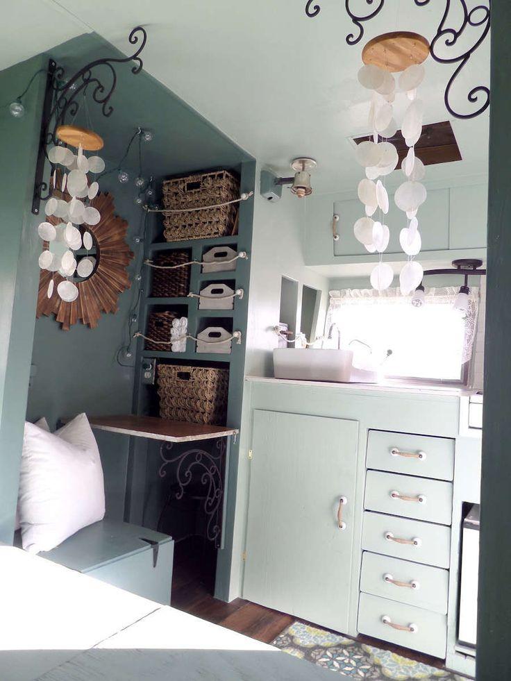 Best Rv Interior Decorating For Summer Images On Pinterest