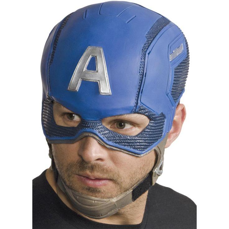 Capt America Cw Mask Adult