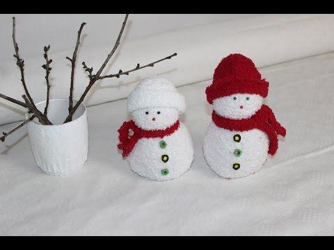 DIY. Schneemänner aus Socken / Snowmen socks - YouTube