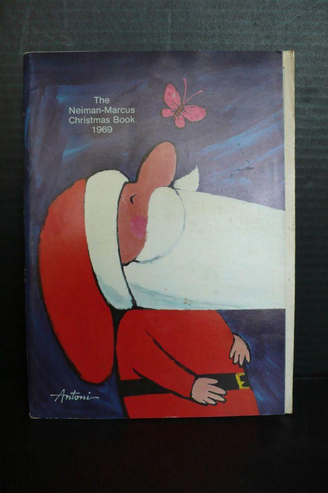 vintage 1969 neiman marcus catalog antoni cover christmas. Black Bedroom Furniture Sets. Home Design Ideas