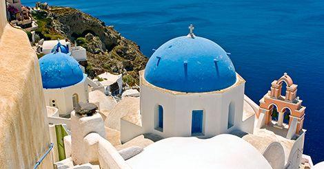 Visite um dos destinos mais azul e paradisíaco. Confira: http://www.ctoperadora.com.br/397-pacote-paradisiaca-grecia.aspx