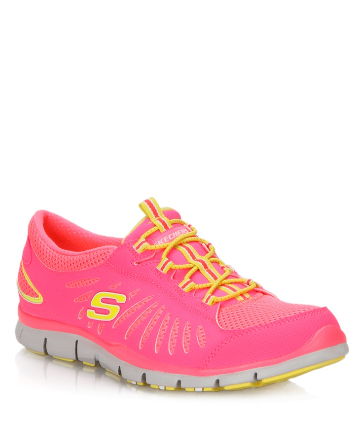 Sketchers bright pink