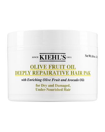 Olive+Fruit+Oil+Deeply+Repairative+Hair+Pak,+8.0+oz.+by+Kiehl\'s+Since+1851+at+Neiman+Marcus.