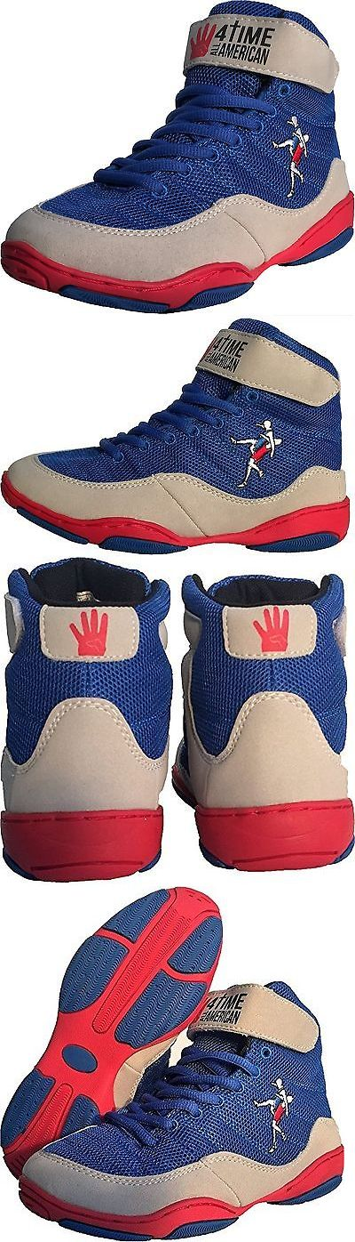 Clothing 79796: The Patriot Blue Wrestling Shoes By 4 Time All American Sizes 1-9.5 6.5 -> BUY IT NOW ONLY: $39.79 on eBay!