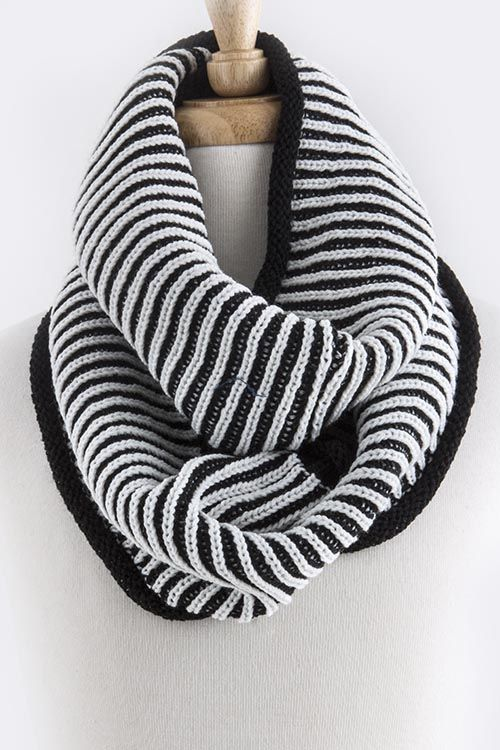 Knitting Vertical Stripes Scarf : Best images about scarves on pinterest brown leopard