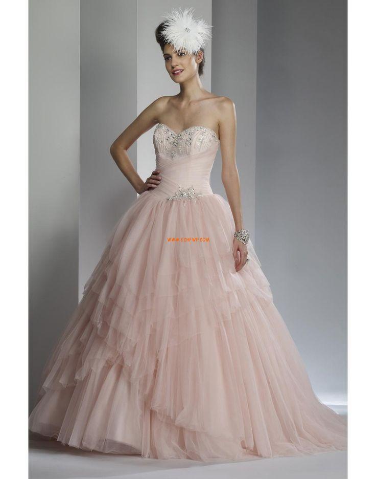 Kostel Princesové Zip Svatební šaty 2014