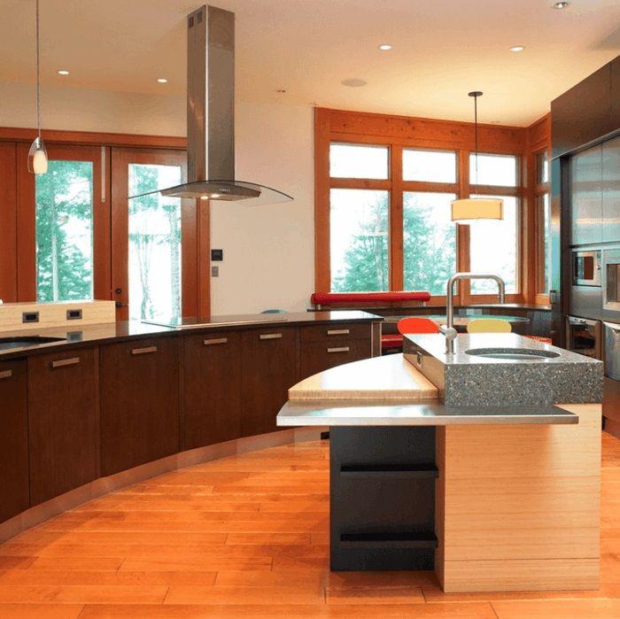 Ist Die Kücheninsel Ein Muss Oder Ein Extra? Unserer Ansicht Nach Ist Die  Kochinsel In Der Großen Küche Ein Muss. In Kleineren Räumlichkeiten Könnte  Sie.