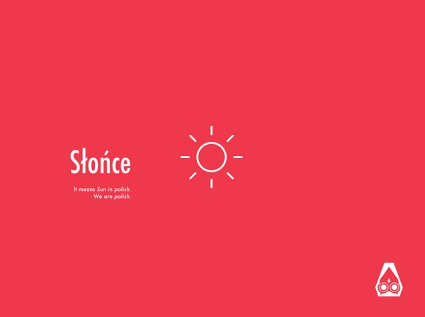 Słońce—mobile app website by Paweł Ksieniewicz, via Behance
