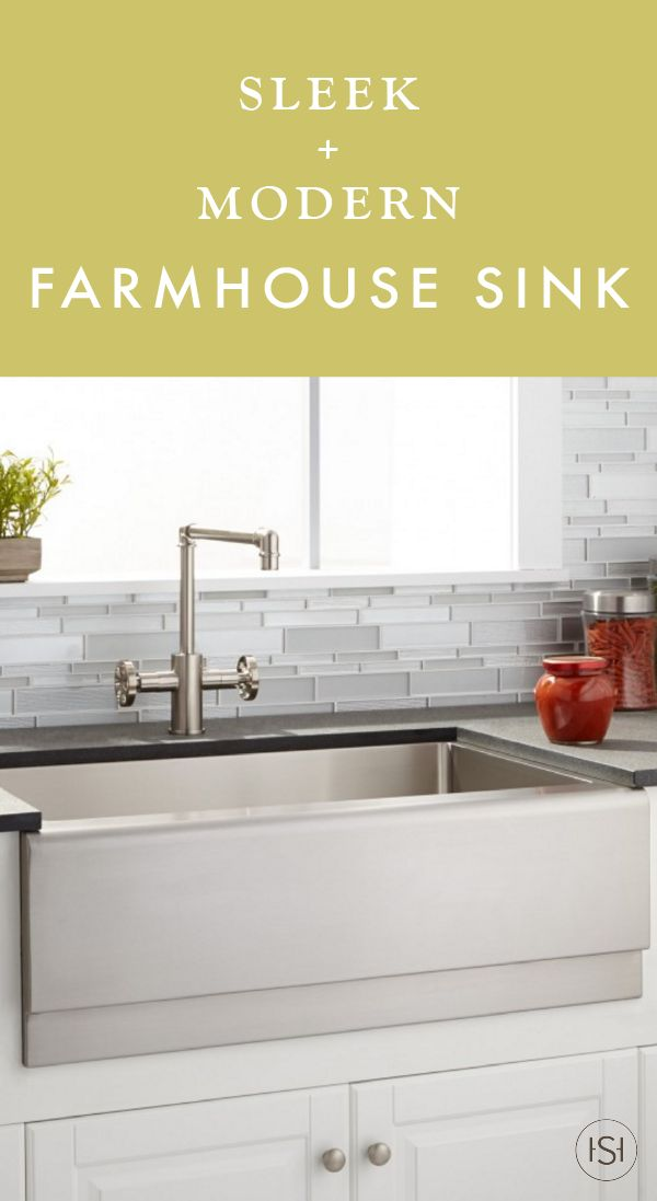 "27"" Optimum Stainless Steel Farmhouse Sink Beveled Apron"