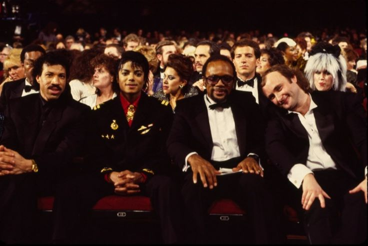 Michael Jackson And Friends | GRAMMY.comGrammy Awards, Lionel Richie, Phil Collins, Jackson King, Jackson Quincy, Michaeljackson, Michael Jackson, Quincy Jones, 1986 Grammy