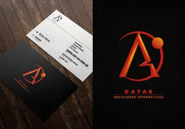 Logo + Tarjetas Personales para la empresa Datar.-