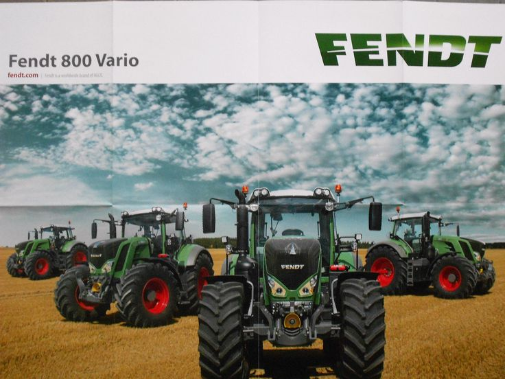 RIESEN FENDT 800 VARIO FENDT 824 826 828 VARIO TRAKTOREN POSTER 84 x 59 cm NEU! | eBay