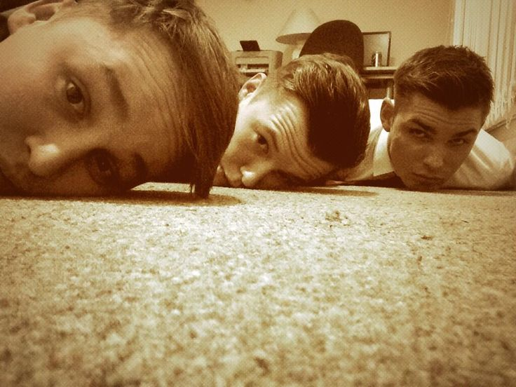 lying on the floor haha Alfie Browne Sykes Charlie Werhnam and Kieron Richardson <3