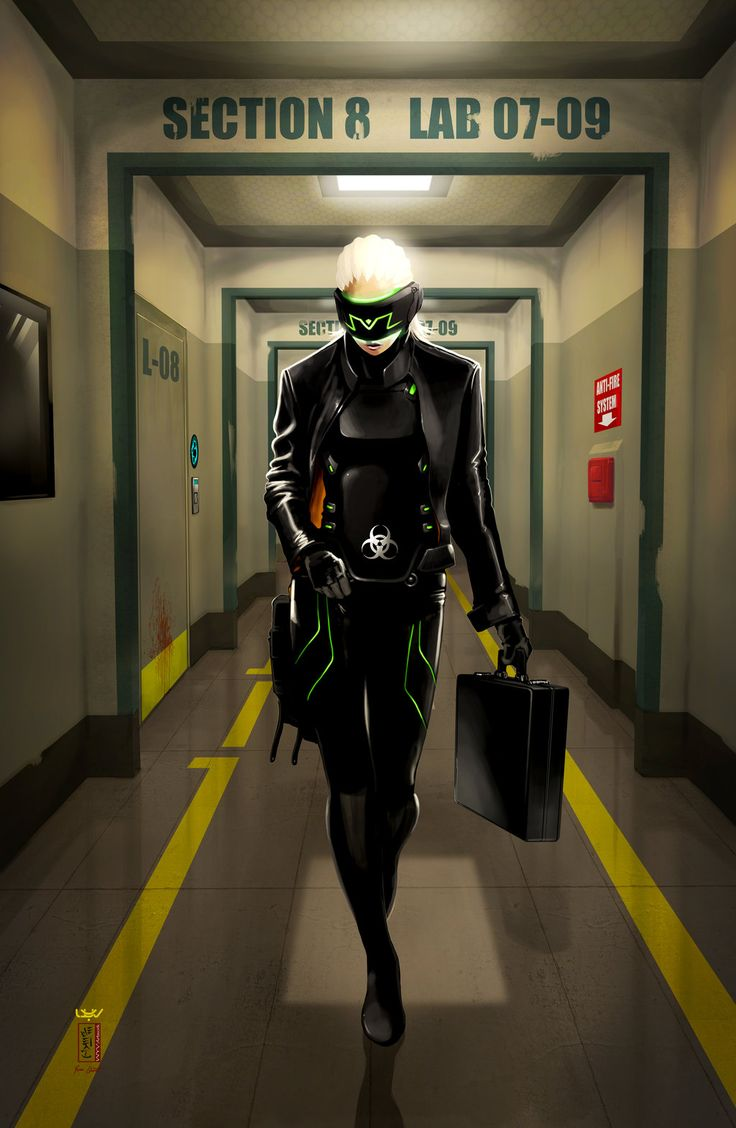 Cyberpunk, Futuristic Clothing, Cyber Glasses, Future, Futuristic Suit, Armor, Cyber Girl, Girl in Black, Cyber Helmet -- Section 8 -- by *wyv1 on deviantART