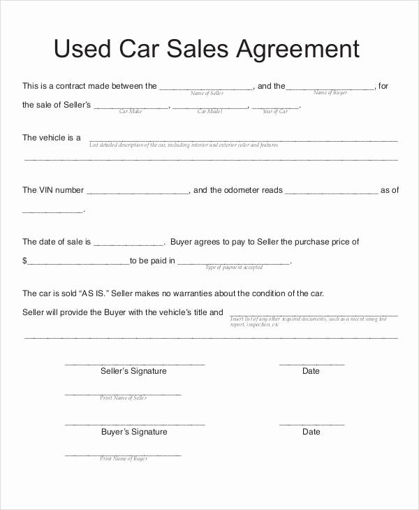 50 Car Payment Contract Template In 2020 Contract Template Cars