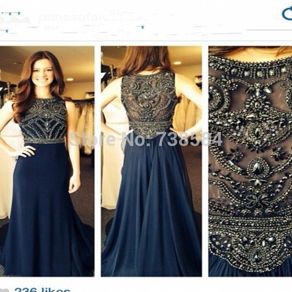Find More Evening Dresses Information about Free Shipping Hot Sale Black Crystal Pattern Navy Blue Evening Dress ,High Quality crystal bodice wedding dress,China crystal evening dress Suppliers, Cheap crystal key from 100% Love Wedding Dress & Evening Dress Factory on Aliexpress.com