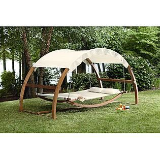 Patio Day Bed Lounge Swing Garden Lawn Yard Pool Outdoor Deck Furniture Arch New