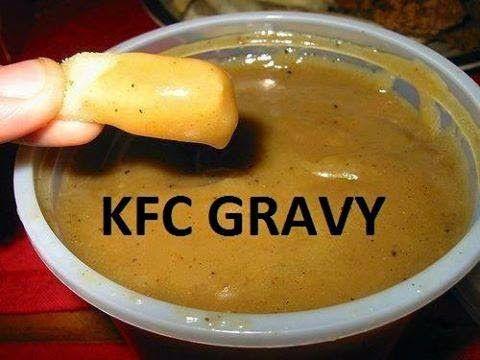 LEKKER RESEPTE VIR DIE JONGERGESLAG: KFC GRAVY