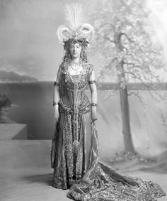 Princess Henry of Pless, also as Cleopatra (or possibly the Queen of Sheba), at the Duchess of Devonshire's Diamond Jubilee Costume Ball, July 2, 1897. Description from pinterest.com. I searched for this on bing.com/images