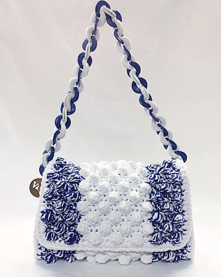 Greek chic....unique blue...... New entry. SC1214 #chic #unique #elegant #classy #trendy #ladiesfashion #instyle #loveit #wantit #top #brand #handmadebags #V&R