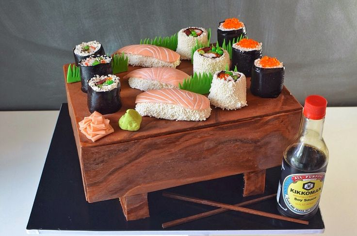 Cup a Dee Cakes Blog: Sweet Sushi Cake!