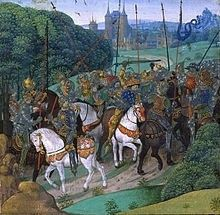 Charles 6 goes nuts! Frim Froissart's Chroniques