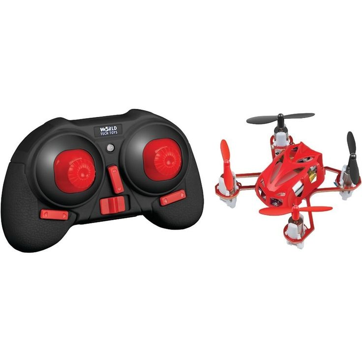 Remote 4.5-Channel 2.4GHz Micro Supernova Quad Drone #WORLDTECHTOYS