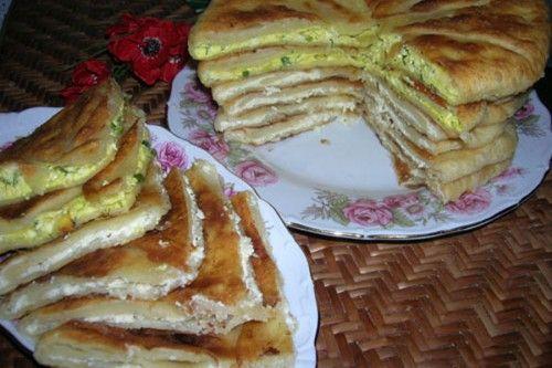 Донские лепешки на кефире с картофелем и яйцом | Четыре вкуса