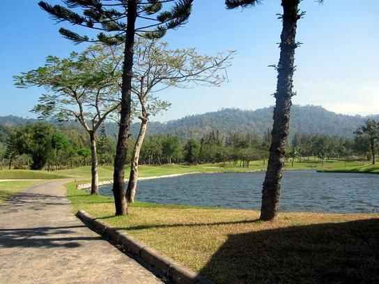 Khao Kheow Country Club Golf Course in Pattaya, Thailand