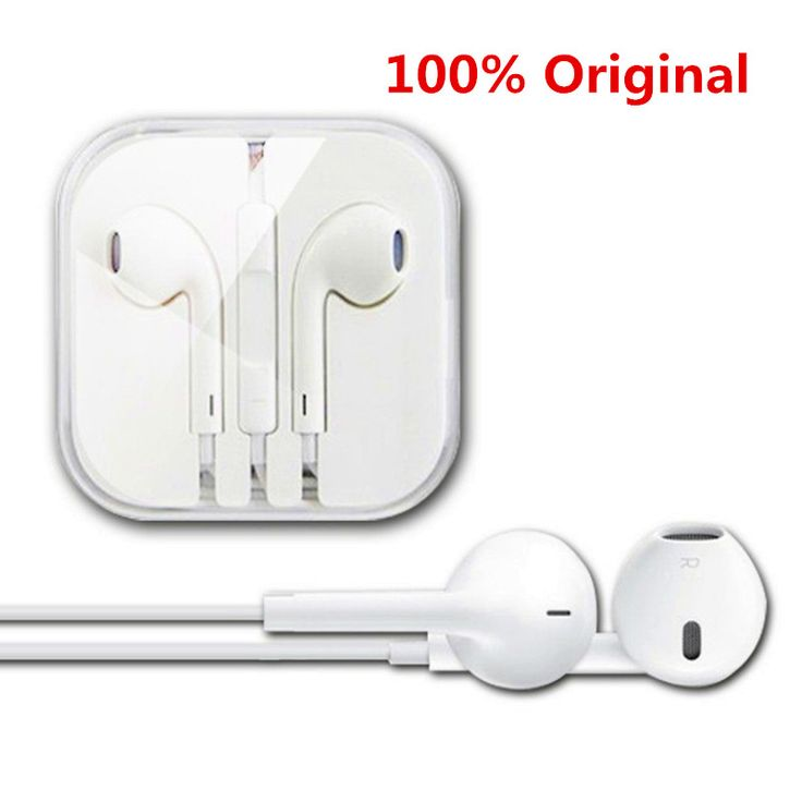 awesome 100% Original White 3.5mm headphones For Apple iPhone 5/5s/6/6s plus Earpods earphone with Remote and Mic For iPad/iPod