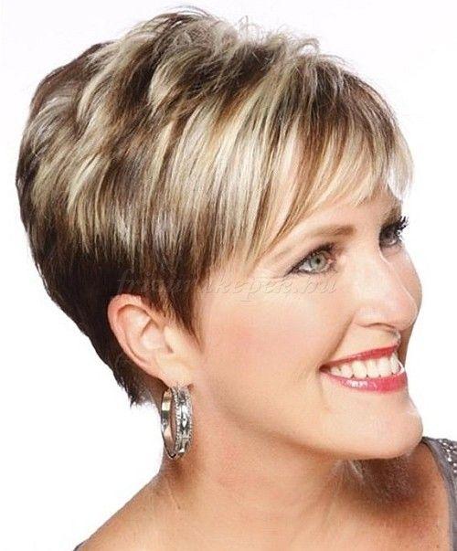 12 rövid frizura ötlet 50 év feletti nőknek - MindenegybenBlog