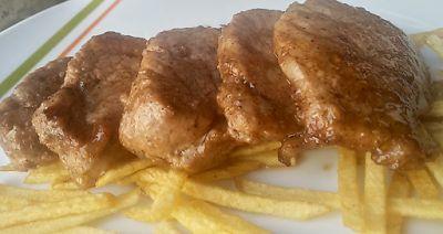 Asaltatucocina: Marinado de solomillo de cerdo.