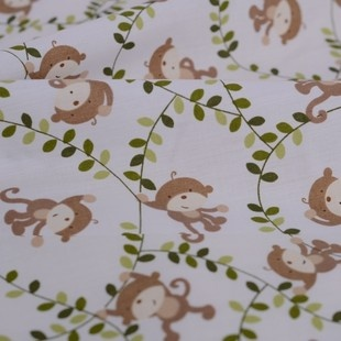 1000 images about baby oh baby on pinterest fabric for Nursery monkey fabric