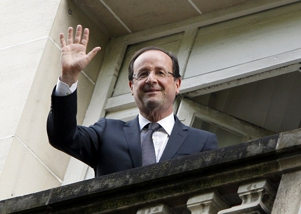 France's new president. Now for the hard part!