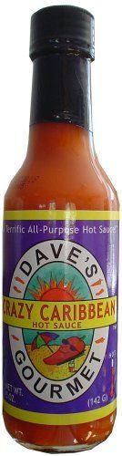 Daves Crazy Caribbean Hot Sauce with Rican Red Habanero Peppers * More info could be found at the image url-affiliate link. #GourmetCheese