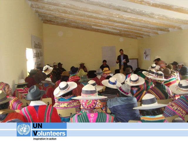 TODAY on day 23 of UNV Connect, it's the International Day of the World's Indigenous People to promote and protect the rights of the world's indigenous population.  Find out more http://www.un.org/en/events/indigenousday/. Read about a UN Volunteer who promoted indigenous rights and fought against racial discrimination in Bolivia: http://www.unv.org/en/perspectives/doc/promoting-indigenous-rights-and.html