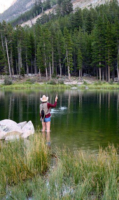 Montana fly fishing fishing knots pinterest pesca for Girls gone fishing