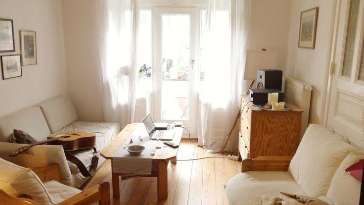Wohnzimmer hängematte ~ Blick von wohnzimmer ins esszimmer einer wunderschönen hamburger