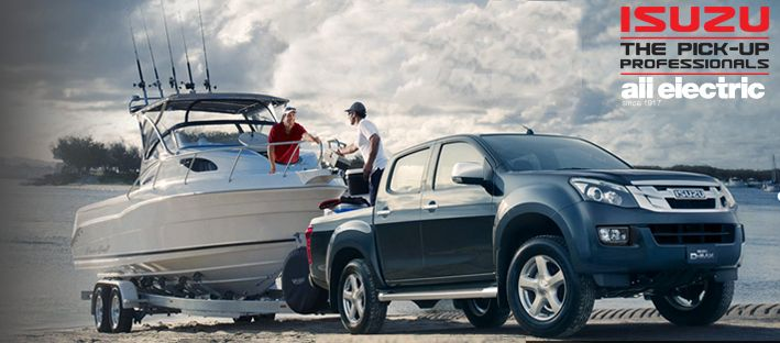 What do you think of the Isuzu Yukon? Able to tow a maximum braked load of 3.5 tonnes!  #isuzu #boat #towing